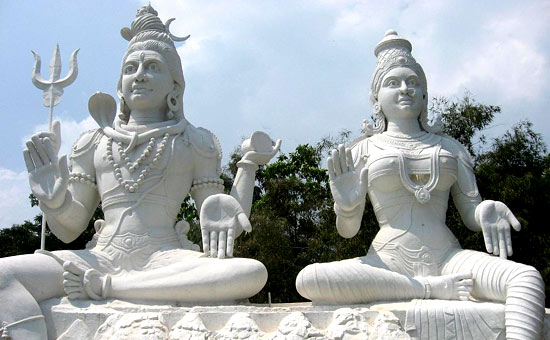 The Great Night of Shiva and Parvati