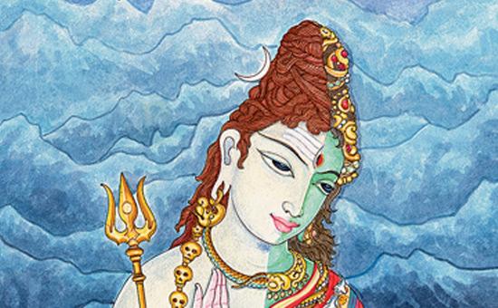 Rudra tandava of Ardhnarishwar