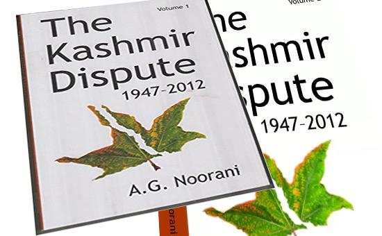 A critique of AG Noorani`s `Kashmir Dispute 1947-2012`