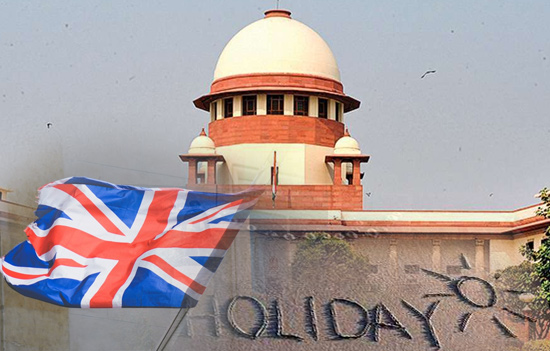 Can the Vacation Policy of the Supreme Court shed its Colonial Legacy