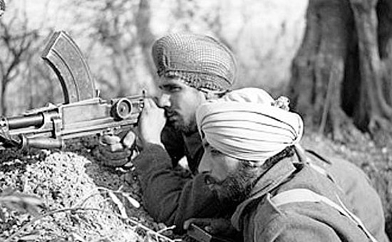 War and dissolution of India