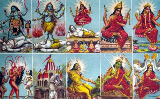 The Ten Great Cosmic Powers (Dasa Mahavidyas)