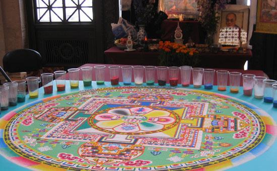 The Tibetan Sand Mandala