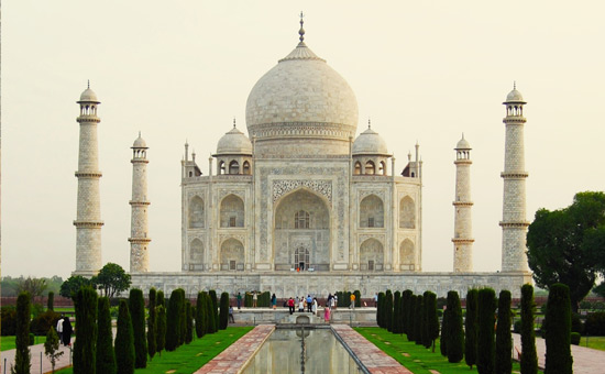 Re-examining history-The making of the Taj
