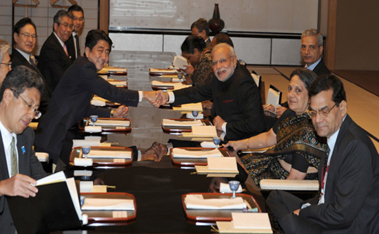 Modi`s Japan visit-Buddha diplomacy at work
