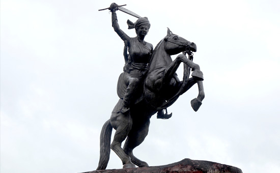 THE BEST AND THE BRAVEST - RANI LAXMIBAI of JHANSI