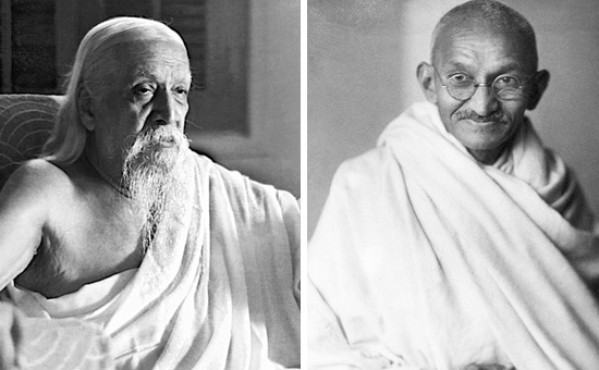 SRI AUROBINDO on GANDHI