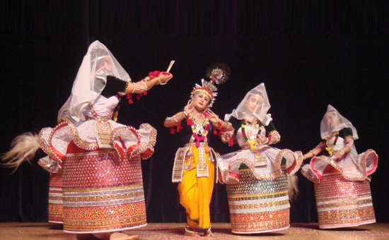 Celestial Dancers of Manipur