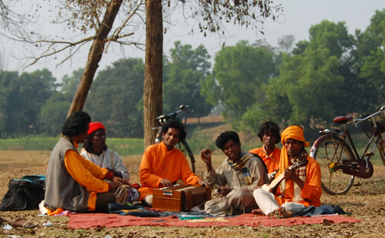 The Divine Search - the Baul Singers of Bengal
