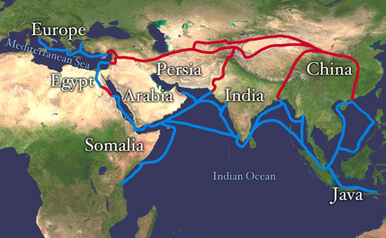 The Greatest Journey of Ideas on the Silk Route