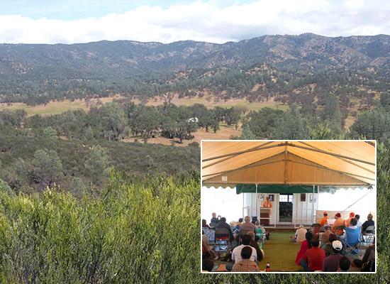 Visit to Shanti Ashrama California