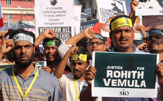 Rohith Vemula`s suicide - Imposing the burden of guilt to bury the truth