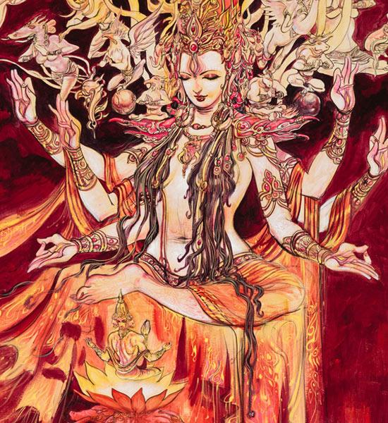 Shakti, the Supreme - Mother Goddess in Hinduism