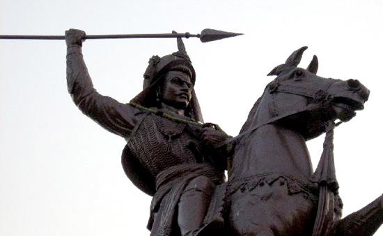Bajirao Peshwa`s dash to Delhi 1737