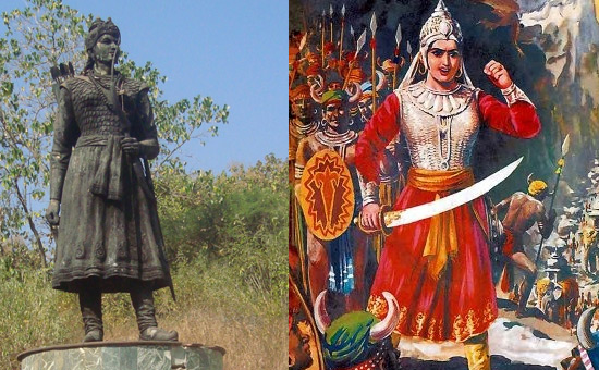 Warrior Queens Rani Durgawati and Naikidevi