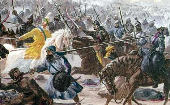 The Battle of CHAMKAUR