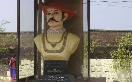 KANHOJI ANGRE was India`s first naval commander