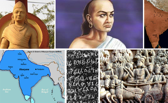 Study of Literary Sources and Inscriptions during the Maurya Era