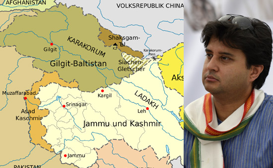 Plebiscite in Kashmir - Is Jyotiraditya Scindia missing the `Crown`