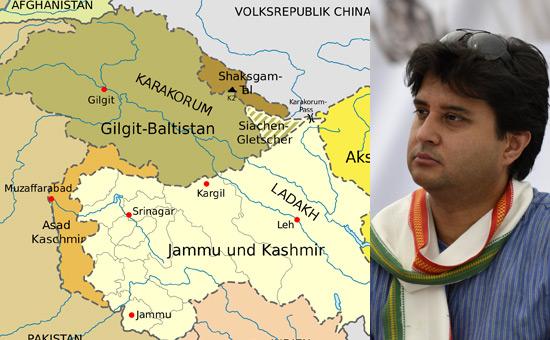 Plebiscite in Kashmir - Is Jyotiraditya Scindia missing the `Crown`