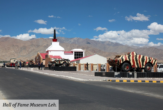 The Indian Army Museum Leh needs to go global