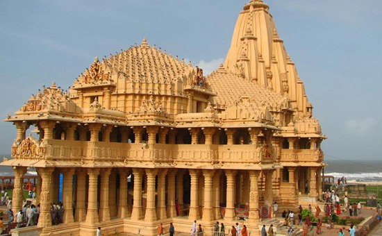 The magnificence of Somnath Temple