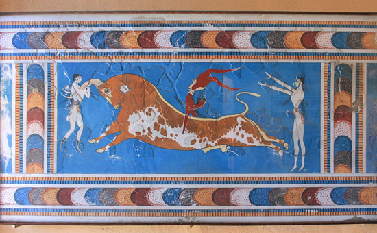 Bull-Leaping - Did it spread from the Indus Valley to Syria, Egypt, and Crete