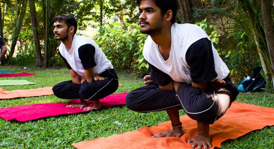 Impact of Shavasana and meditation on memory scores