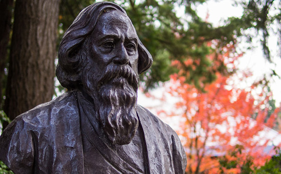 Tagore and the concept of walled & forest civilisations