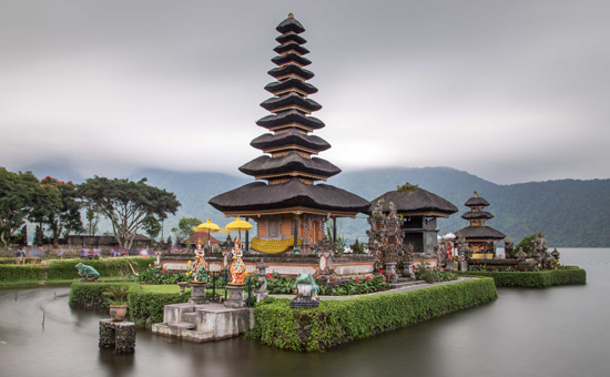 The Bali Temple Run