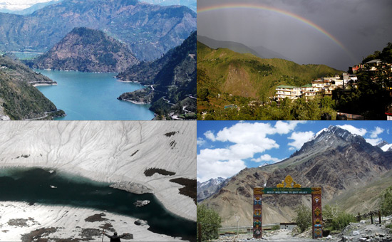 Travel to Dalhousie,  Mcleodganj, Spiti Valley and Sangla