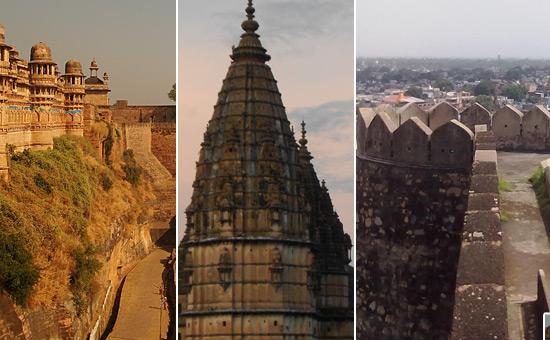 Travel to Gwalior, Jhansi and Orchha