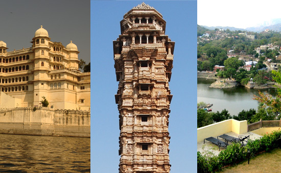 Travel to Udaipur, Chittorgarh & Mount Abu