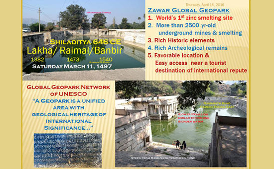 GEOHERITAGE of UDAIPUR Region