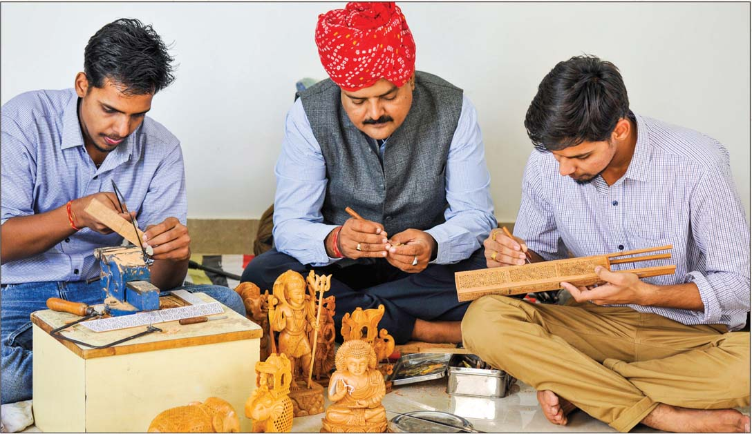 Masterful Carvers of Rajasthan