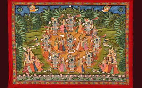 PICHWAI ART OF INDIA