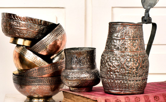 History of Copper Utensils