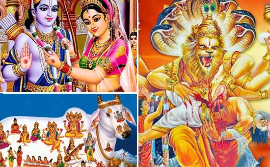 Stories of Bharat 3 - Kamadhenu, Sita Navami, Narasimha Jayanti