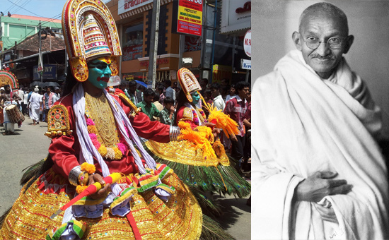 Commemorating the educational spirit of Gandhi through a new ONAM