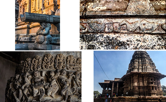 What do Ganas, Gandharvas, Mithuna Couples and Dancing girls on Temple Walls tell us