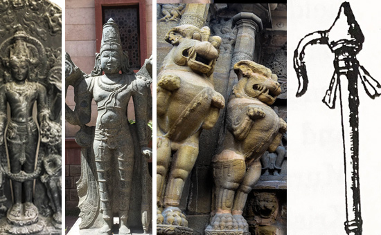 Weapons seen in the hands of Deities-Hindu Temple Iconography