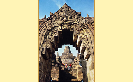 Bordubudur Stupa Indonesia, 4 Levels to the final truth