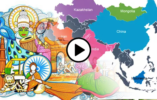 Ancient India`s cultural contribution to Asia