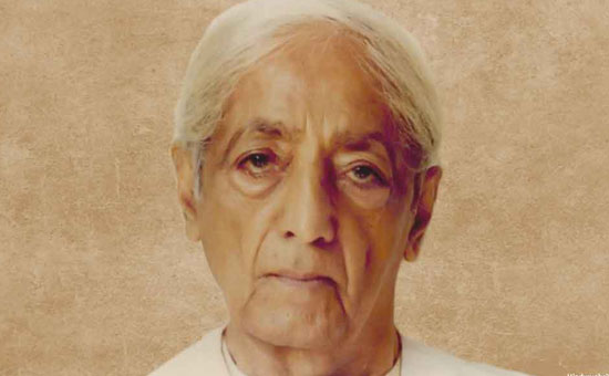 Jiddu Krishnamurti concept of Total Revolution