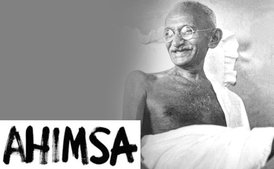 What does AHIMSA mean