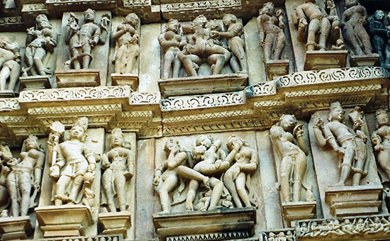 Meaning behind Erotic Sculptures in Khajuraho