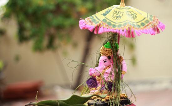 Enshrining Ganesha