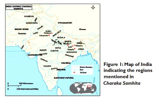 Medical geography in Charaka Samhita