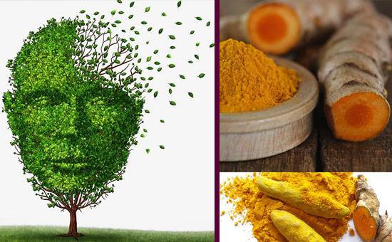 Effects of turmeric on Alzheimer disease with behavioral and psychological symptoms of dementia