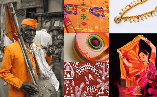 Art, Music, Dance and Textile Traditions of Maharashtra